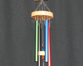 Handcrafted WOOD Wind Chimes