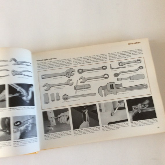 Do it yourself manual book 1970s home manual woodworking do it yourself manual book 1970s home manual woodworking book home repair bookvintage home repair carpentry book plumbing book solutioingenieria Gallery