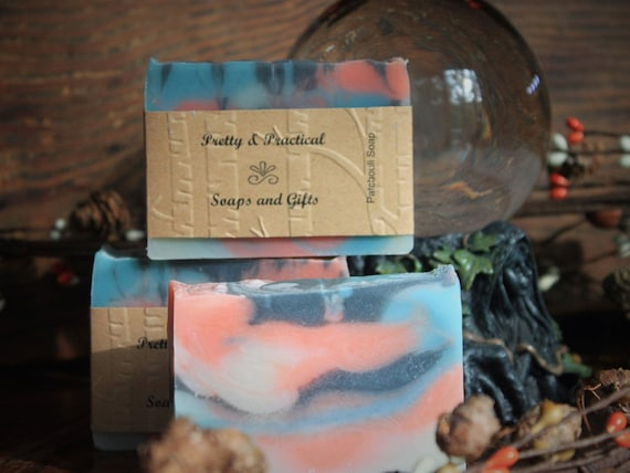 Pathcouli Soap~handmade soap, patchouli essential oil soap,natural soap, responsibly sourced palm oils,shea butter
