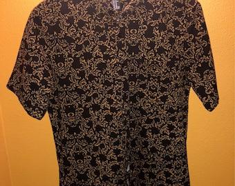 Luxury design button-up shirt