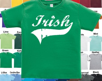 Irish - St. Patrick's Day - T-Shirt - Boys / Girls / Infant / Toddler / Youth sizes