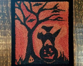 All Hallows Eve Punch Needle Pattern
