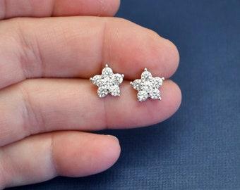 SALE Rhinestone Stud Earrings, Post Earrings, Crystal Stud Earrings, Wedding Earrings, Bridal Earrings, Bridesmaid Gifts