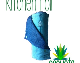 Reusable Kitchen Roll // Unpaper Towels // Kitchen Towel // Custom Made to Order