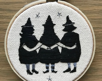 Three Sisters (Original Embroidery)