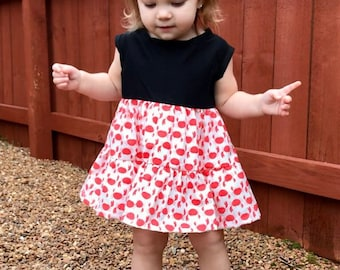 Toddler Dress - Crab Dress- Crab Print Toddler Dress