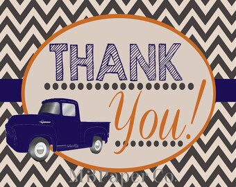Truckin' Thank You Card 4x5