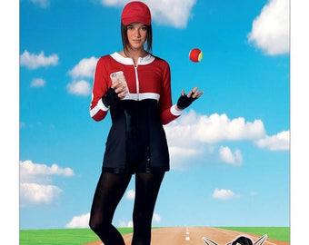 McCalls 7556 Cropped Sweatshirts and Princess-Seam Rompers Sewing Pattern, YaYa Han, Size 8-16, Costume Pattern