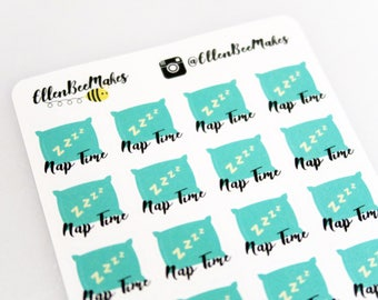 Nap Time Stickers