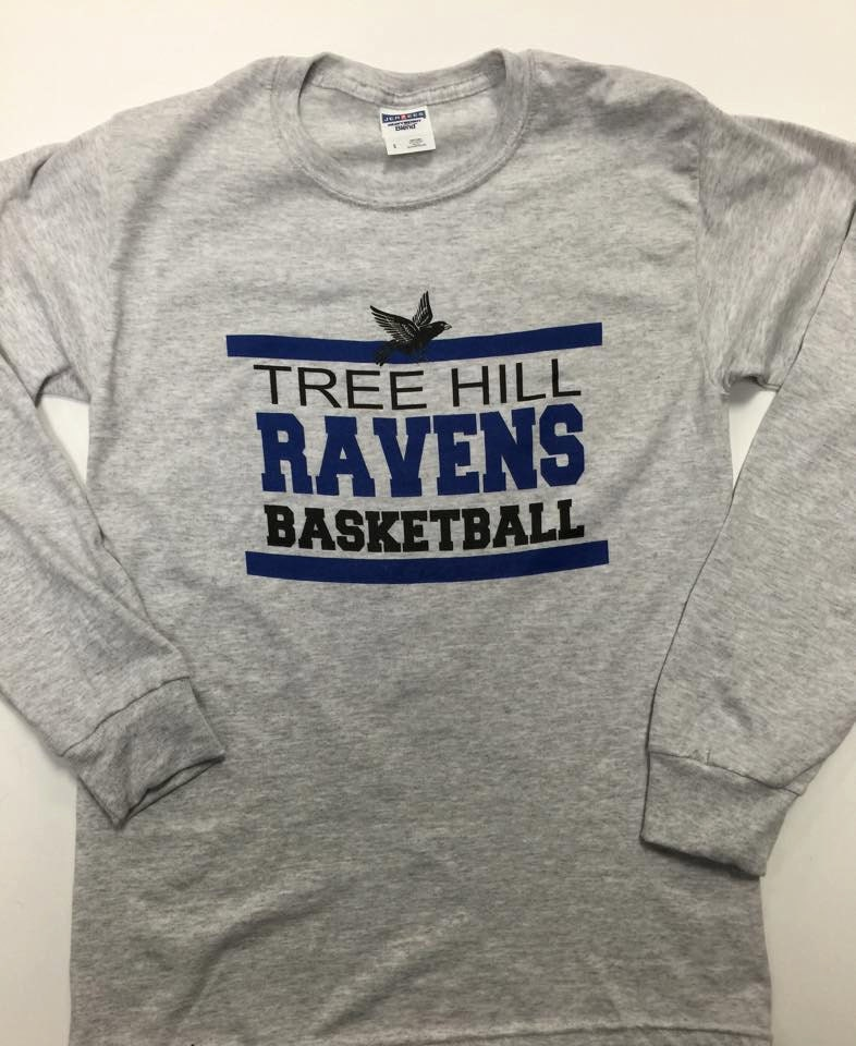 One tree hill ravens basketball long sleeve tee fan tee zoom publicscrutiny Choice Image