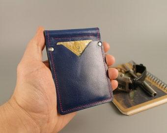 Money Clip Wallet, Leather Money Clip Wallet, Leather wallet, Men's Wallet, minimalist wallet