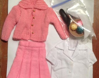 Skipper Doll Outfit School girl REPRODUCTION mint