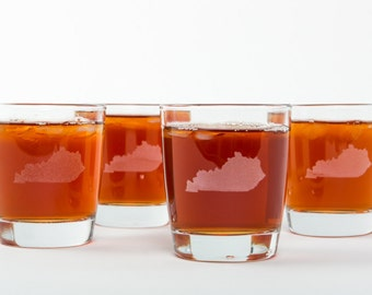 Kentucky Bourbon Glasses