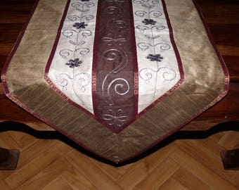 Oriental Table runner Decorations table cover table-top embroidery approx. 170 x 45 cm