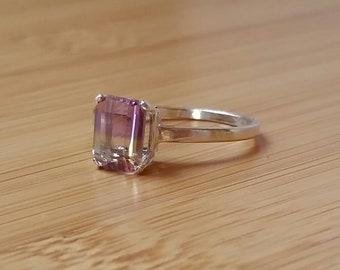 Ametrine Ring Size 8