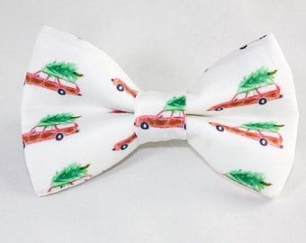 "Dog Bow Tie ""The Family Vacation"""
