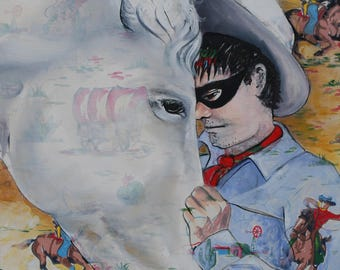 Lone Ranger Series limited edition of 50 signed and dated fine art print