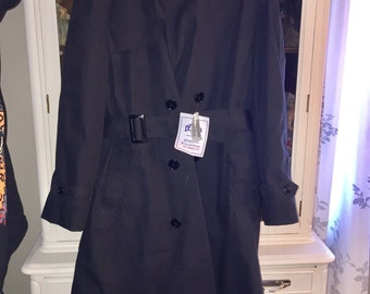 Men's size 40 Military trench coat