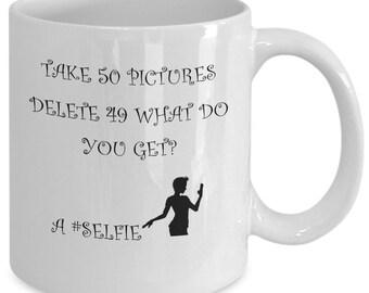 Take 50 pics coffee mug