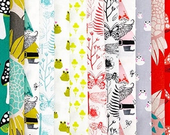 Front Yard -Cotton and Steel - Sarah Watts -Fat Quarter Bundle- Pre Order