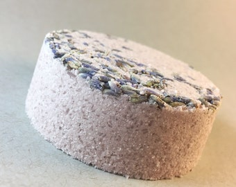 BATH BOMB The Chill Bomb - Lavender essential oil and bath salts - Natural Bath Soak - Spa Gift for Her - Gift for Mom - Teacher Gift