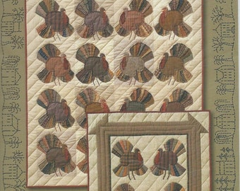 Turkey Time by Janet Miller The City Stitcher Quilt Collection Designs New