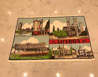 London/Vintage Tea Towel