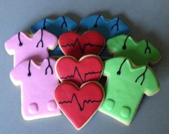 Nurse/Medical Sugar Cookies