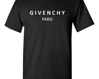 Givenchy Paris Black T-Shirt