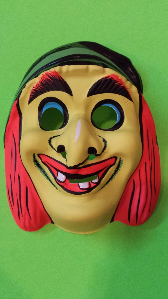 Vintage Witch Mask