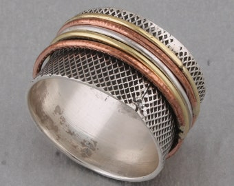 925 sterling silver RING (BAND RING)