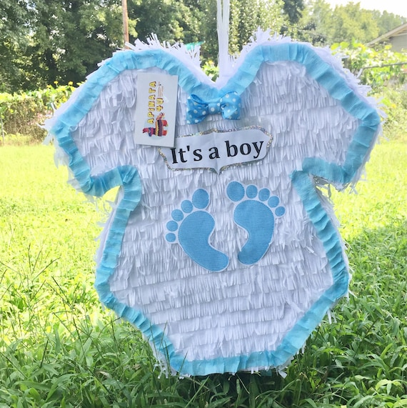 Baby Shower Pinata Baby Boy Onesie Itu0027s A Boy Available