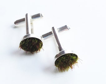 Gather Moss Cufflinks