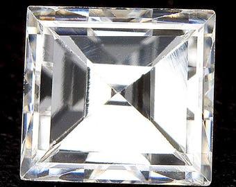 See Video - 0.27ctw 3.9x3.5mm H VS1 Loose Natural White Diamond Square Shape Carre Carrè