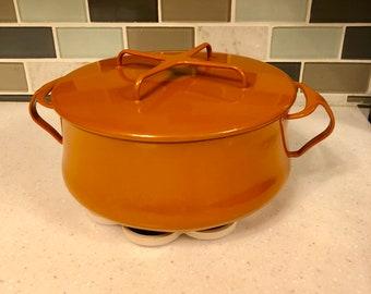 Vintage Dansk IHQ Kobenstyle Orange 4 QT
