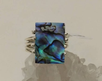 Abalone Ring Size 9