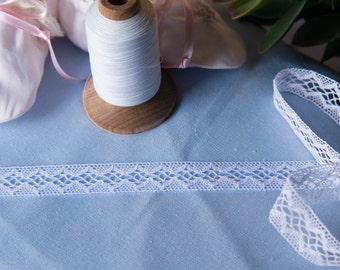 Spanish Lace Insertion (LSP58INS580)- White