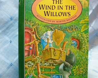 "Vintage ""The Wind in the Willows"" Book by Kenneth Grahame"
