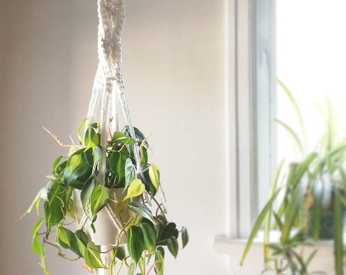 JULY 3:  Macrame Plant Hangers