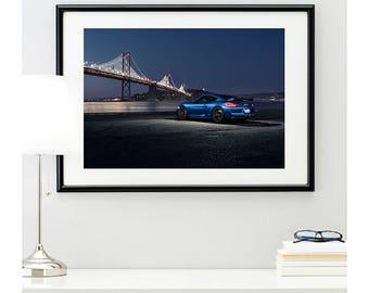 2016 Porsche Cayman GT4 Rear Angle, automotive photography, automotive prints, car photography, car prints, german car, @richardlephoto