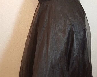 FREE  SHIPPING    1950  Organza  Gown