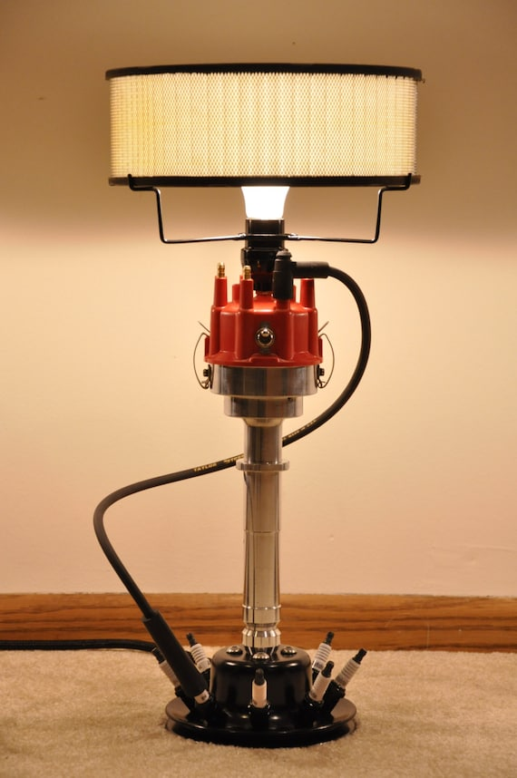 The Original Distributor Lamp By Speed Lamps Mancave Chevy