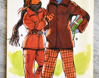 Pouch pattern 10521e Paris - overall pants (Vintage)