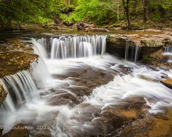 West Virginia Water Fall - Mash Fork Falls