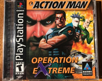 Action Man: Operation Extreme - Playstation 1 (PS1)