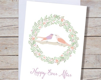 Happy Ever After - A6 Greeting Card