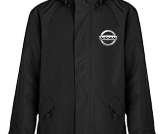 Nissan Quilted Polyester Wind and Water Resistant Winter Jacket