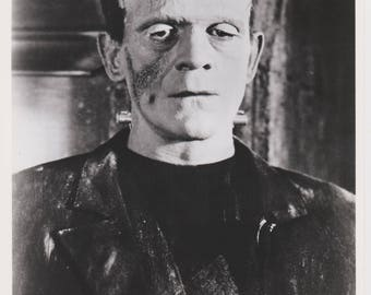 Professional Quality Frankenstein's Monster 8x10 black & white Mary Shelley Halloween