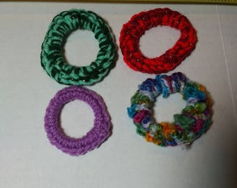 Recycle Upcycle Plastic Milk Ring Cat Toy