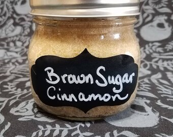 Brown Sugar and Cinnamon Scrub